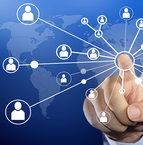 image of organizational network
