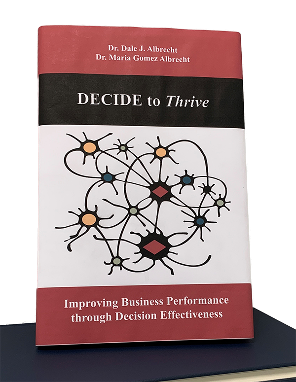 Photo of book on Decision Effectiveness