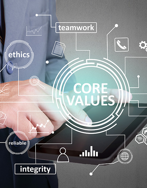 Image for core values