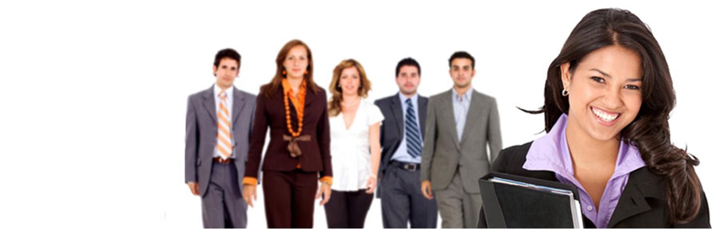 stock image of leadership team