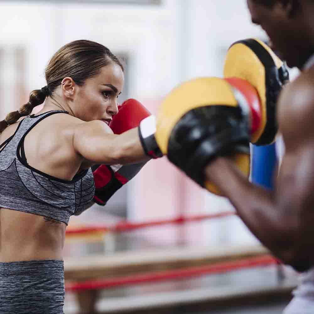 photo of executive boxing